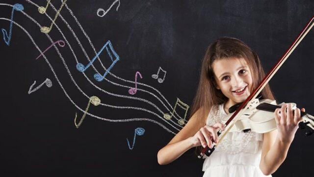 Studierea unui instrument muzical la copii