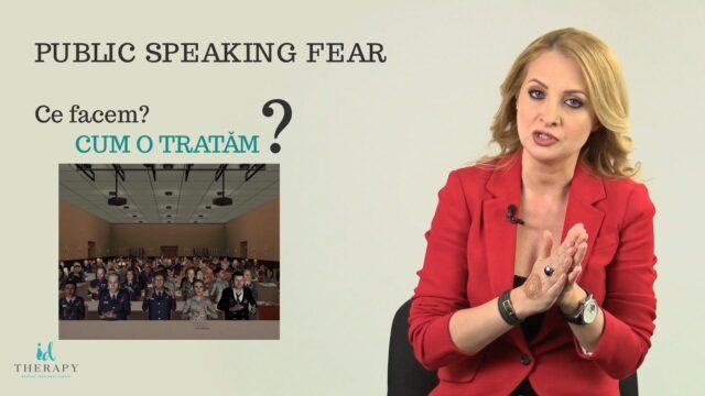 Cum tratam Frica de a Vorbi in Public