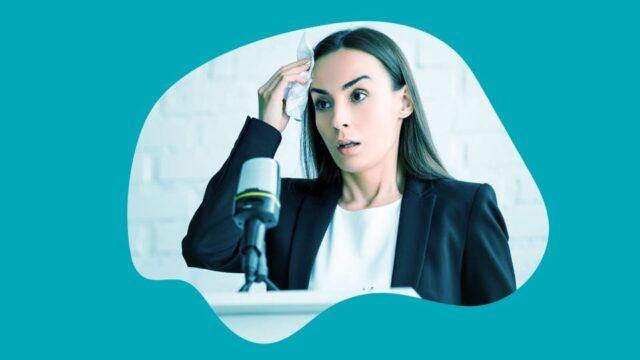 Fear of public speaking