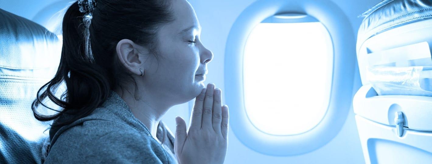 Frica de zbor cu avionul