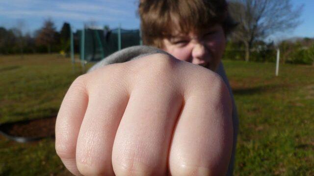 Comportamentul agresiv poate fi o stare de anxietate foarte mare