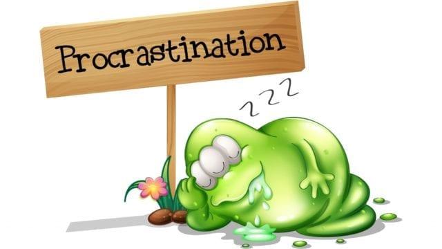 De ce procrastinam si cum sa nu mai facem asta